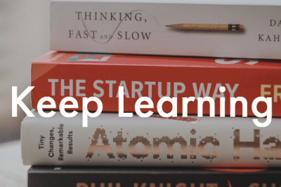 Five ways of wellbeing—1. Keep learning