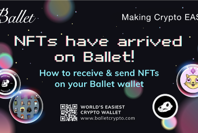 How to receive & send NFTs on your Ballet wallet