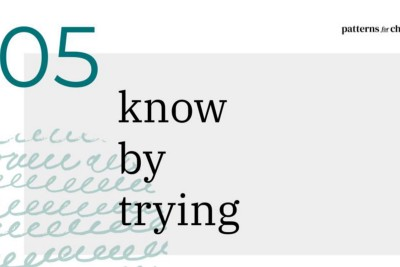 Know by trying: experimenting in complexity
