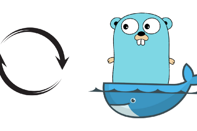 Golang app in a container with hot reload and dynamic local package
