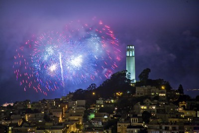 Weekend Wind-Down: Here's Your Best Bet at Seeing San Francisco's Fireworks Clearly Today