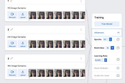 Build a Deep Learning model ready for deployment with a few clicks.