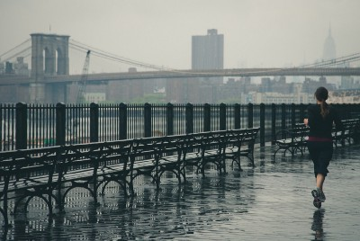 Experience The Liberating Joy of Running in the Rain