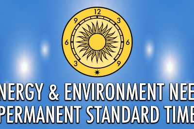 Energy & Environment Need Permanent Standard Time
