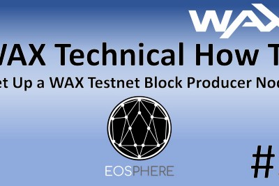WAX Technical How To #3