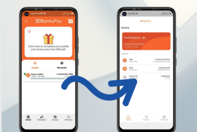 How to transfer your existing BantuPay account to the new BantuPay Wallet