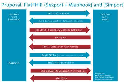 Architectural considerations for FHIR submissions to US Federal Agencies