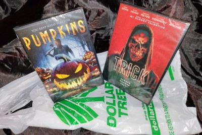 GREGORY'S DOUBLE FEATURES Presents HALLOWEEN HORRORS, Vol. 1, Entry 1: DOLLAR-STORE DROSS