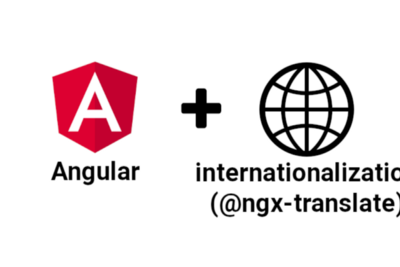 Adding the internationalization (i18n) component to an Angular application
