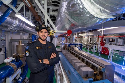 Otago man eager to serve on Navy's biggest-ever ship