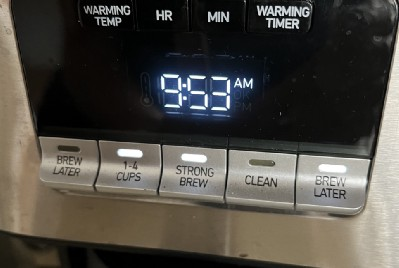 Do You Think My New Coffee Maker Is Trying To Tell Me Something?