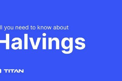 What are Bitcoin halvings?