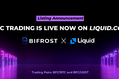 Bifrost Token (BFC) Listed on Liquid Global Exchange