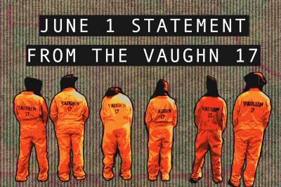 Statement from the Vaughn 17 (06/01/2021)