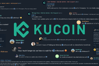 KuCoin Can Now Open VI Withdrawals