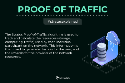 What is Proof of Traffic,Stratos Unique Incentive Mechanism?