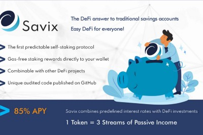 SAVIX IS THE BEST COLLATERAL FOR DECENTRALIZED FINANCE (DEFI)