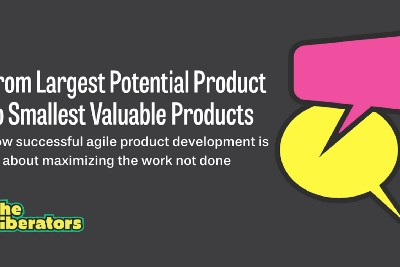 From Largest Potential Product To Smallest Valuable Products