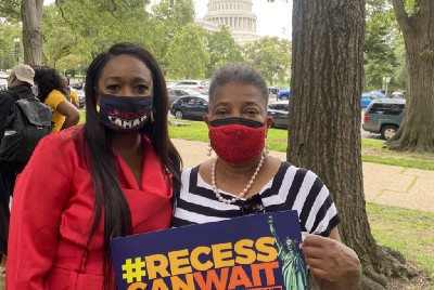 Sen. Gilmore, Rep. Lamar in D.C. urging Congress to act on voting rights protections
