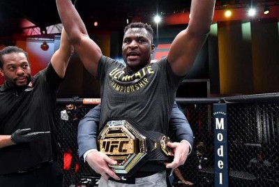You're kind of my hero, Francis Ngannou