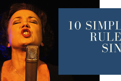10 Simple Zen Rules For Singers