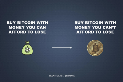 Now Is the Time To Buy Bitcoin With Money You Can't Afford To Lose