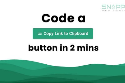 """Learn how to add a """"Copy Link to Clipboard"""" button to your website in 10 lines of code"""