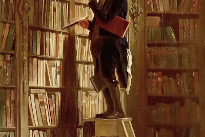 A Poetic Analysis: The Book Worm by Carl Spitzweg