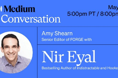 Join Us for a Live Conversation With 'Indistractable' Author Nir Eyal