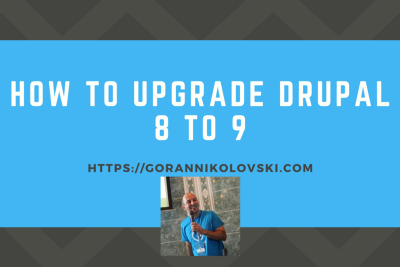 How to upgrade Drupal 8 to 9