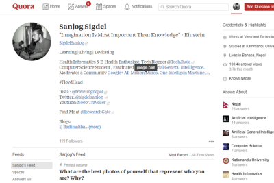 Do You Quora? Just Reached 100K Answer Views:)