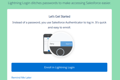 What I've learnt about MFA for Salesforce