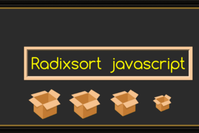 Radix Sort And It's Implementation In Javascript…