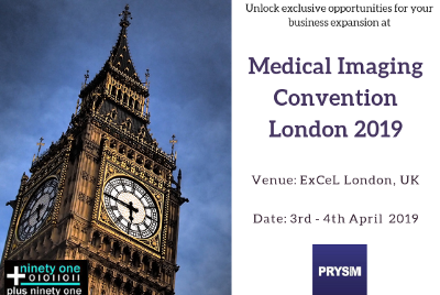 Medical Imaging Convention London 2019