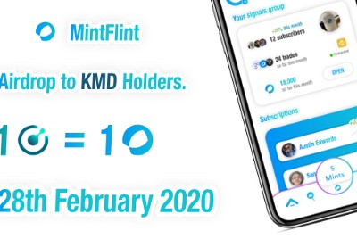 MintFlint will be airdropping to all KMD holders.