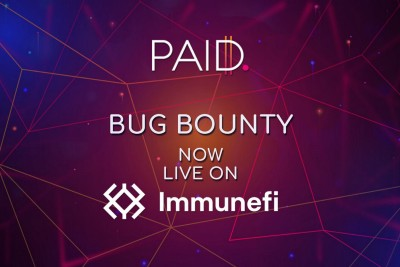 The PAID Network Bug Bounty is Live On Immunefi!