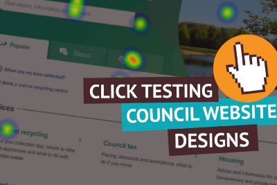 Using click testing to validate website designs