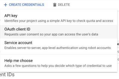 Using Gmail API with Node JS and Typescript