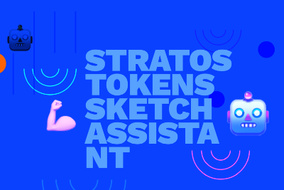 Meet our Stratos Tokens 2021 Sketch assistant 🎉