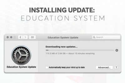 INSTALLING UPDATE: EDUCATION SYSTEM