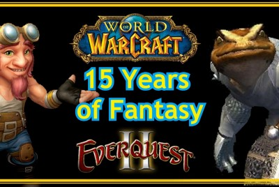 15 Years of Fantasy: EverQuest II, World Of Warcraft