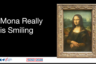 Mona Really Is Smiling
