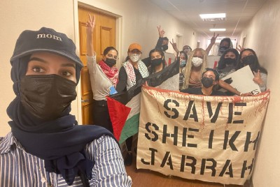 Palestinian feminists condemns recent attacks by Florida State Legislatures on Palestinian…