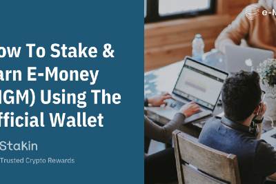 How to stake and earn E-Money (NGM) using the official wallet
