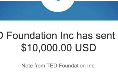 A few months ago, a complete stranger gave me $10,000. Here's what I did with it.