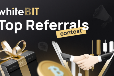Time to bring your friends: WhiteBIT Top Referrals