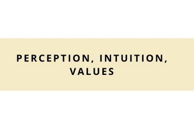 Perception, Intuition, and Values: Understanding my Character and How to Trust People