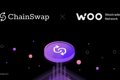 WooTrade Joins ChainSwap to become cross-chain—first permissionless onboarding 🎉