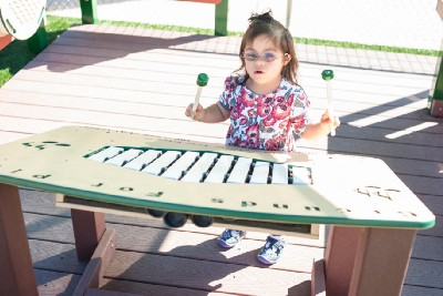 Improve Academic Skills with a Musical Play Garden