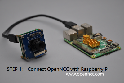 3 steps to set up the best cost performance deep-learning powered raspberry pi camera with OpenNCC